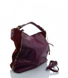 Exkluzívna kožená kabelka MK-482783 #2