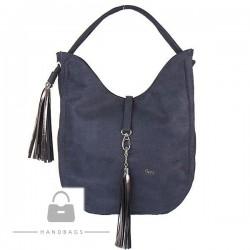 Fashion kabelka Carine modrá ekokoža AW-482871-357