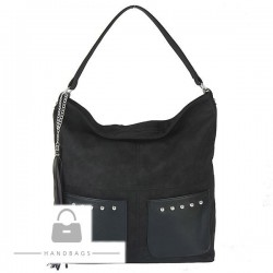Fashion kabelka čierna ekokoža AW-483617-100