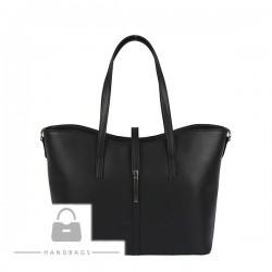 Fashion kabelka čierna koža AW-483695-100