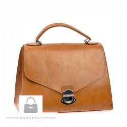 Fashion kabelka Import hnedá koža AW-477454-412
