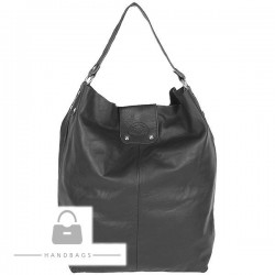 Fashion kabelka Import sivá koža AW-482521-323