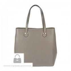 Fashion kabelka Import sivá koža AW-483121-57