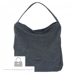 Fashion kabelka Marchello modrá ekokoža AW-482751-52