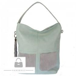 Fashion kabelka Marchello modrá ekokoža AW-485659-356