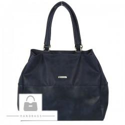 Fashion kabelka modrá ekokoža AW-482752-354