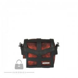 Fashion kabelka Riccaldi červená filc AW-484103-102