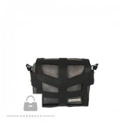 Fashion kabelka Riccaldi čierna ekokoža AW-484107-569
