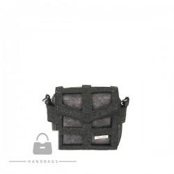 Fashion kabelka Riccaldi sivá ekokoža AW-484106-543