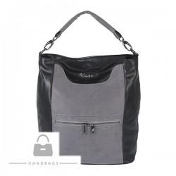 Fashion kabelka Seka sivá ekokoža AW-483635-65