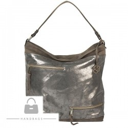 Fashion kabelka sivá ekokoža AW-483623-148