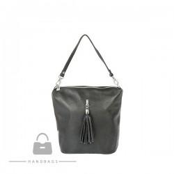 Fashion kabelka sivá koža AW-483748-323