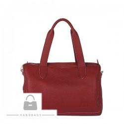Fashion kabelka Torbalski bordová koža AW-483583-48