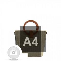 Fashion trendová kabelka INES DeLAURE ine materiály - MKA-501190 #4