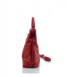 Kabelka cez rameno LIDA ekokoža - MK-501391- červená #1
