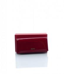 Kožená dámska peňaženka ROVICKY - RFID secure - MK-0026551-červená