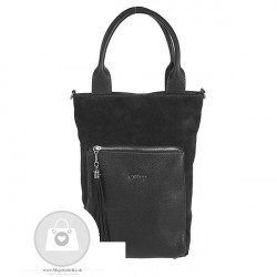Kožená kabelka ELIZABET CANARD koža - MKA-490495