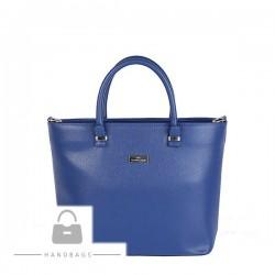 Kožená kabelka Elizabet Canard modrá koža AW-480467-52
