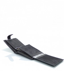 Pánska peňaženka WILD ekokoža - MK-494445-čierna #4