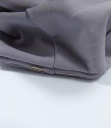 Poškodená značková talianska kabelka J&C sivá ekokoža JC703-3 #5