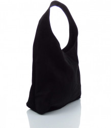 Talianska kabelka kožená Made in Italy - MK-498700-cierna #2