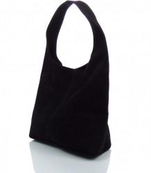 Talianska kabelka kožená Made in Italy - MK-498700-cierna #4