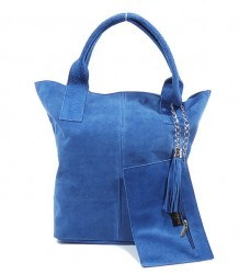 Talianska kabelka Made in Italy brúsená koža - MK-490992
