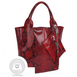 Talianska kožená kabelka - MK-498701 #3