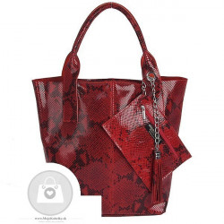 Talianska kožená kabelka - MK-498701 #4