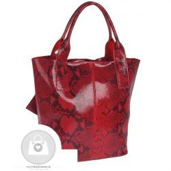 Talianska kožená kabelka - MK-498701 #5