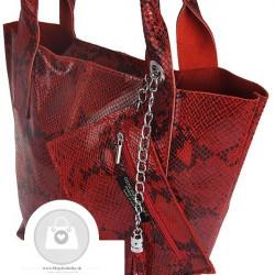 Talianska kožená kabelka - MK-498701 #6