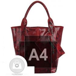 Talianska kožená kabelka - MK-498701 #7