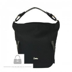 Trendová kabelka Carine čierna ekokoža AW-482364-100