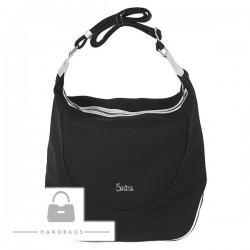 Trendová kabelka Carine sivá ekokoža AW-482270-148