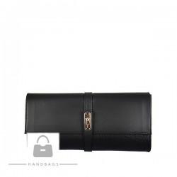 Trendová kabelka Import čierna koža AW-477496-100