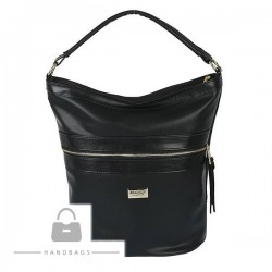 Trendová kabelka Marchello čierna ekokoža AW-482235-100