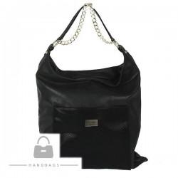 Trendová kabelka Marchello čierna ekokoža AW-482331-100