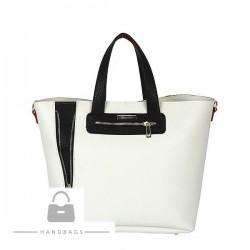 Trendová kabelka Riccaldi biela ekokoža AW-482287-256