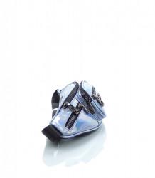Značková dámska ľadvinka NÕBO ekokoža - MK-026554-modrá #2