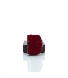 Značková dámska peňaženka MONNARI koža - MK-498499-červená