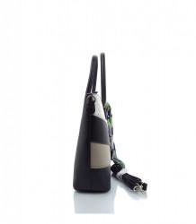 Značková elegantná kabelka DAVID JONES ekokoža - MK-501374- čierna #1