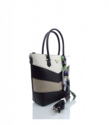 Značková elegantná kabelka DAVID JONES ekokoža - MK-501374- čierna #2