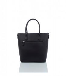 Značková elegantná kabelka DAVID JONES ekokoža - MK-501374- čierna #3