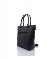 Značková elegantná kabelka DAVID JONES ekokoža - MK-501374- čierna #4