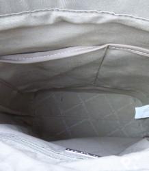 Značková elegantná kabelka DAVID JONES ekokoža - MK-501374- čierna #5