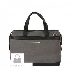 Značková kabelka Monnari sivá AW-485031-65