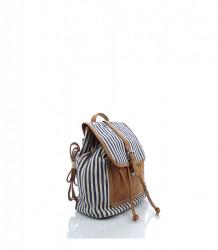 Značkový batoh DAVID JONES textília - MK-026549-modrá