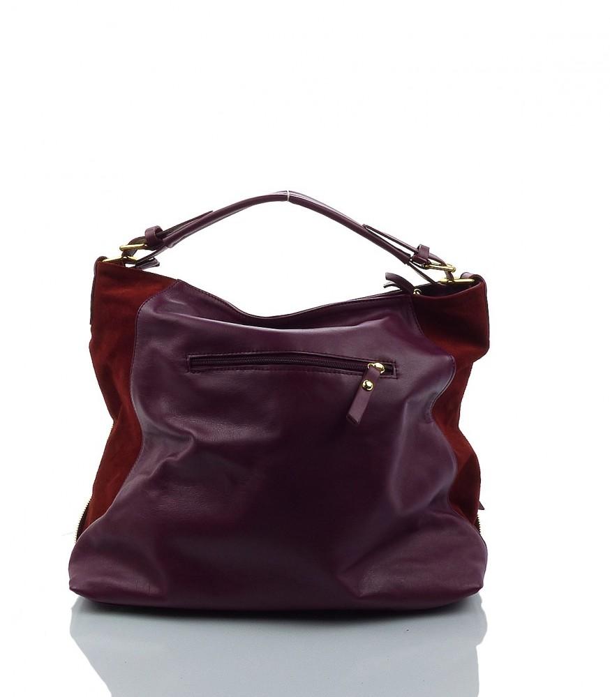 Exkluzívna kožená kabelka MK-482783