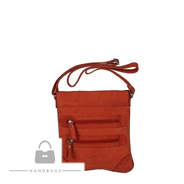 Fashion kabelka červená koža AW-483988-102