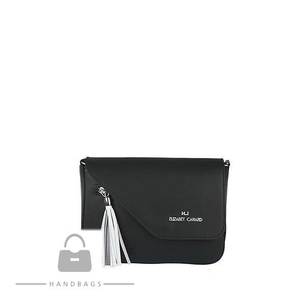 Fashion kabelka Import čierna koža AW-482537-100